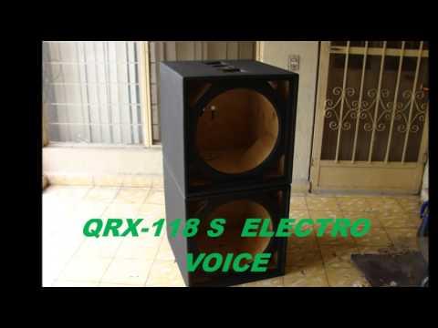 QRX-118 ELECTRO VOICE FABRICACION DE CAJAS ACUSTICAS 83341164  19282644