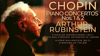 Chopin - Piano Concertos No.1&2 (reference recording : Arthur Rubinstein/Skrowaczewski/Wallenstein)