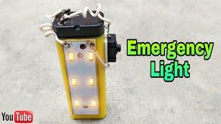How to make Emergency Light at home || घर पर इमरजेंसी लाइट कैसे बनाये
