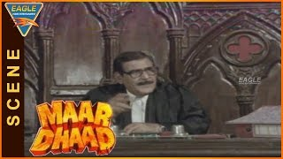 Maar Dhaad Hindi Movie || Extordinary Court Scene || Hemant Birje, Mandakini, Huma Khan