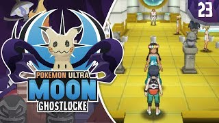 KANTO GYM! GYMS IN ALOLA!?! Pokemon Ultra Sun and Moon GhostLocke Walkthrough w/ aDrive! Ep 23