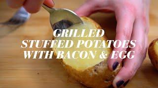 SideChef Gentleman's Kitchen Guide: Grilled Stuffed Potato