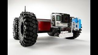 Industrial Inspection Robot The Front Tilt Minibot