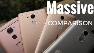 Massive Comparison Redmi Note 3 | Le2 | Coolpad Note 5 | Infocus Epic 1| Sharmaji Technical