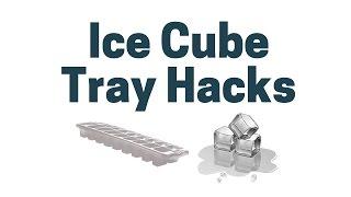 17 Ice Cube Tray Hack Tips