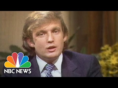 1980s How Donald Trump Created Donald Trump NBC News