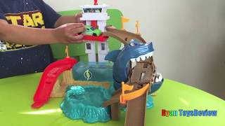 Download Color Changers Hot Wheels Color Shifters Shark Attack Disney Cars Toys McQueen Ryan ToysReview 3Gp Mp4