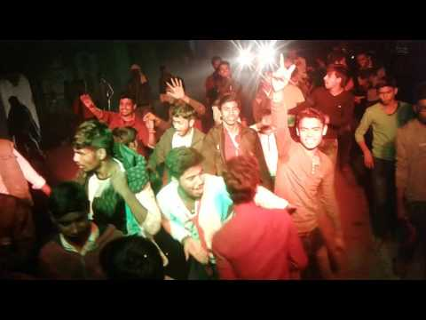 Dangerous group dance of naya tola madhopur