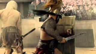 Spartacus Y Crixus vs Theokoles HD