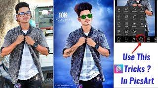 Picsart Smooth Skin Straight Hair Editing/ CB Editing In HD Picsart Tutorial/ Picsart Tricks 2018 HD