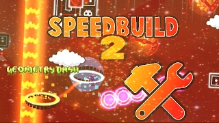 Geometry Dash: SPEED BUILD #2 (2.1) [150 SUBSCRIBERS!]