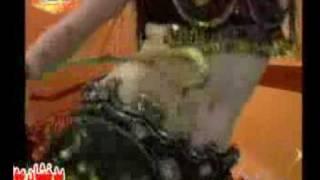 A tajik girl with belly dance with dari qataghani music