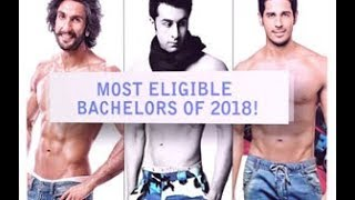 Most Eligible Bachelors of 2018!