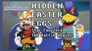 Hidden Easter Eggs in Star Fox Zero The Battle Begins short movie