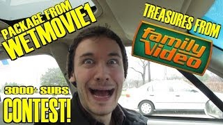 Package From Wetmovie1, Treasures From The Family Video Vault & 3000+ Sub Contest!