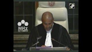 Pakistan News - International Court of Justice begins hearing in Kulbhushan Jadhav case