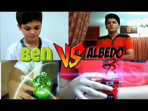 Ben VS Albedo in real life | The real Ben 10 series | Episode 2