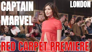 Captain Marvel World Premiere in London