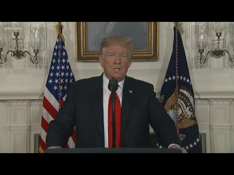 President Trump offers Dreamers protection for border wall deal full speech on January 19 2019