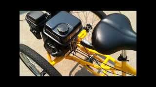 Three Wheel Bike with 7 HP Engine Belize Tri-Rider