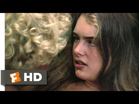 The Blue Lagoon 4 8 Movie CLIP Sticky Kiss 1980 HD
