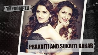 Prakriti & Sukriti Kakar. Interview with twin Indian Singers. Impromptu  #Dukascopy