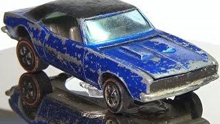 Redline Restoration: Hot Wheels 1968 Custom Camaro