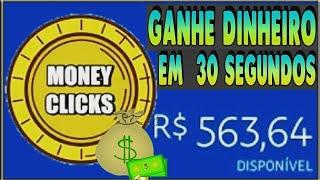 💰 PAGOU!!! Dinheiro Em 30 Segundos + Prova De Pagamento 👉Money Clicks👈