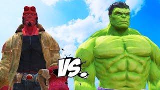 Hulk vs Hellboy - Epic Superheroes War