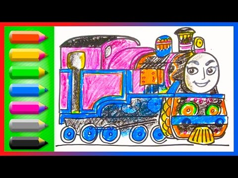 Xxx Mp4 How To Draw Ashima ♦ Thomas And Friends ♦ Drawing And Coloring Lesson For Kids With Trains 3gp Sex