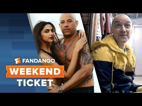 xXx: Return of Xander Cage, Split, The Founder | Weekend Ticket