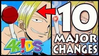10 Ways 4Kids Changed One Piece (CENSORSHIP IN ANIME)