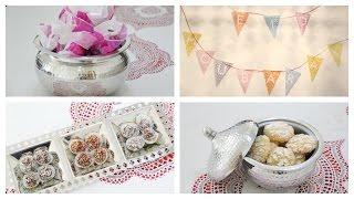 Préparons l'Aid El Fitr ensemble : decoration, cadeaux, gâteau ...