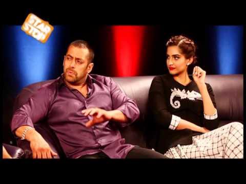 Salman Khan & Sonam Kapoor Exclusive Interview | Prem Ratan Dhan Payo | B4U Starstop Part 2