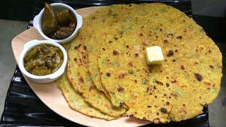 Monsoon Special Missi Roti -Besan ki Roti
