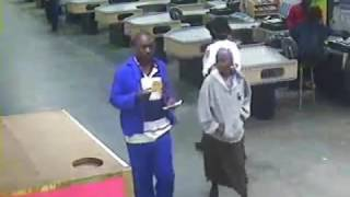 South African Armed Robbery CCTV