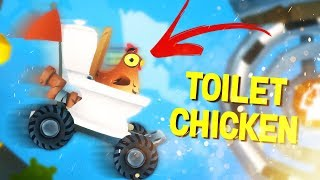 TOILET CHICKEN! | Animal Super Squad #1