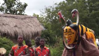 La Danse Zaouli - The Zaouli Dance - Voyage en Côte d'Ivoire Episode 2