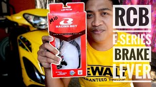 Racing boy E-Series Brake Lever | RCB  Brake Lever | Vlog | RCB