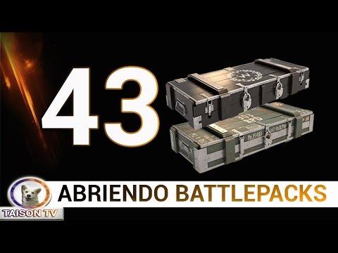 Battlefield 1 Abriendo 30 Battlepacks Normales