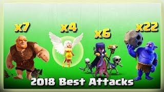 7 Giants+ 4 Healers+ 6 Witch+ 22 Bowler Smashing TH11 Bases | TH11 War Strategy #261 | COC 2018 |