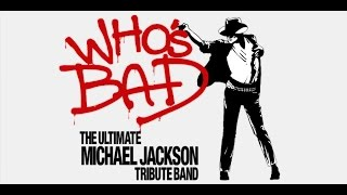 Who's Bad (Michael Jackson tribute band) LIVE @ Akron Civic Theatre on 5-16-14