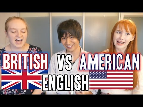 watch British English vs American English