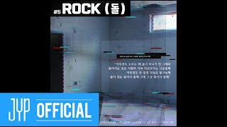 "Stray Kids ""I am NOT"" Inst. Lyric Card 5 ""ROCK (돌)"""