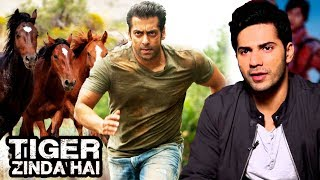 Salman Khan Chase Scene With Horses In Tiger Zinda Hai, Varun Dhawan