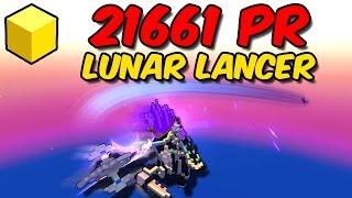 My 21661 POWER RANK Lunar Lancer | Stats, Gems, Gear + Crazy Damage