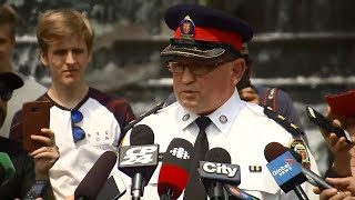 "Toronto police provide update on ""potential risk to public safety"" in GTA"