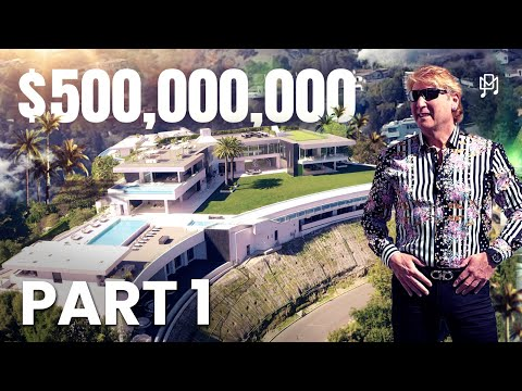 THE BIGGEST AND MOST EXPENSIVE HOUSE IN THE WORLD THE ONE EXCLUSIVE HOUSE TOUR PART 1
