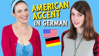 How to do an American Accent in German - feat. Dana (WantedAdventure)