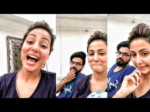 Xxx Mp4 Bigg Boss 11 Hina Khan And Rocky Jaiswal Live Talking About Their Marriage Shilpa Shinde Hina Khan 3gp Sex